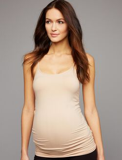 Seamless Maternity Camisole, Nude