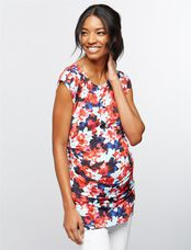 Isabella Oliver Sofia Maternity Top, Floral Print