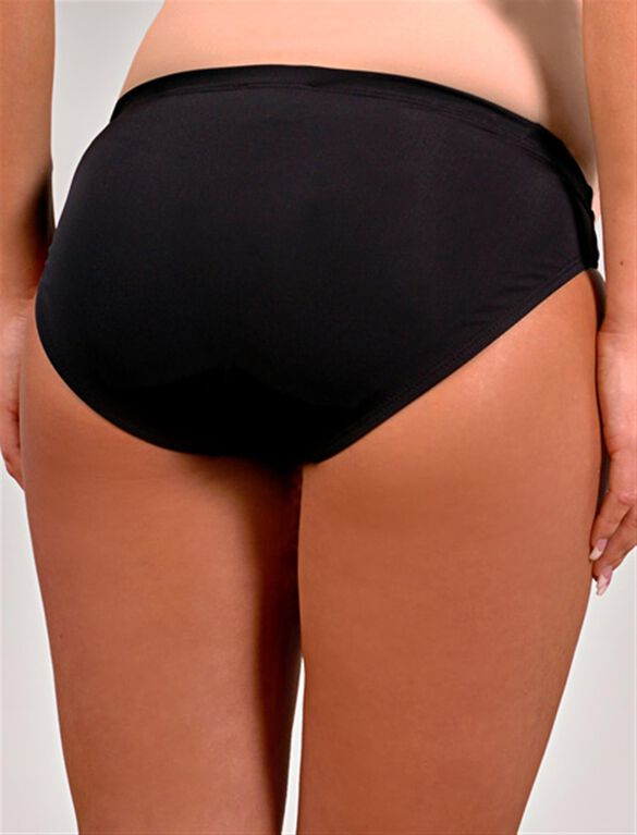Maternity Swim Bottom, Solid Black