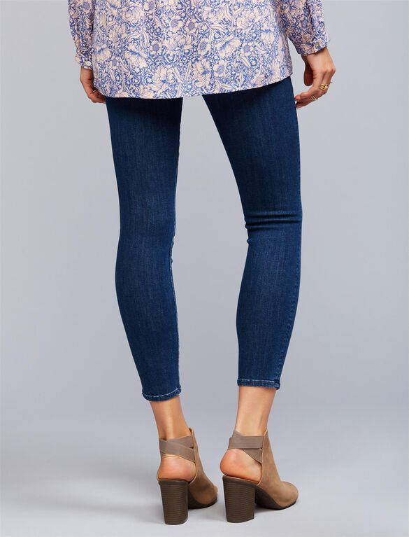 Mother Secret Fit Belly Looker Ankle Maternity Jeans- Here Kitty Kitty, Here Kitty Kitty