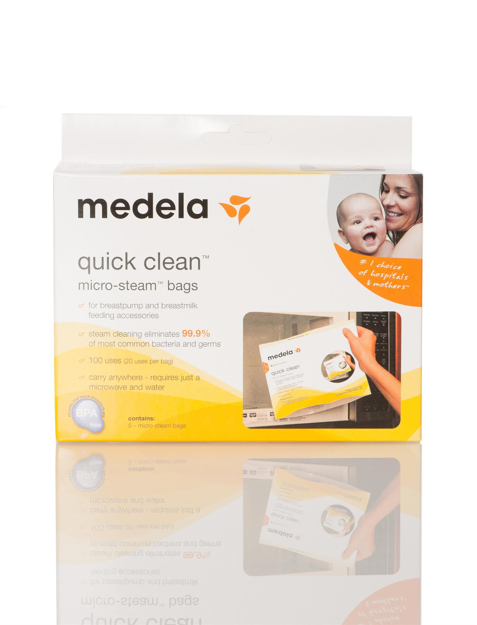 Quick Clean Microsteam Bags