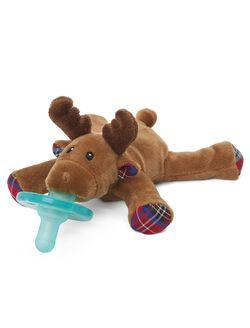Wubbanub Reindeer Infant Pacifier, Reindeer