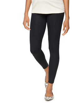 David Lerner Secret Fit Belly Maternity Leggings, Black