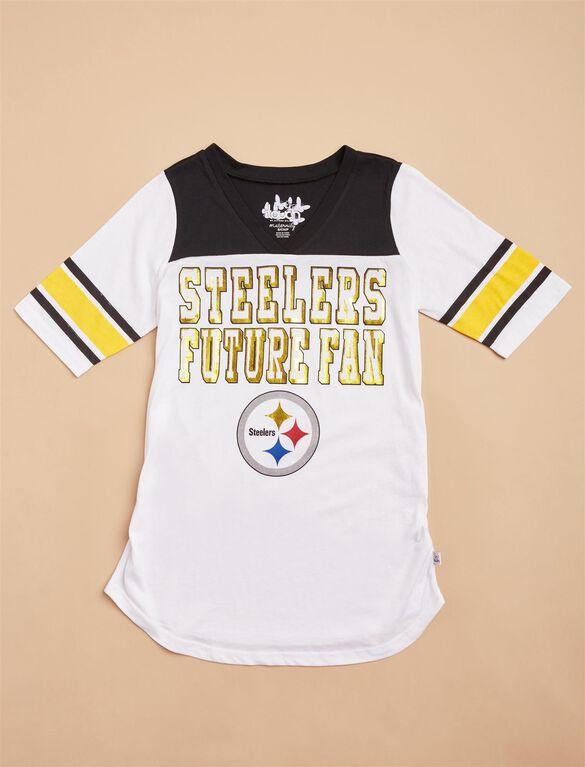 Pittsburgh Steelers NFL Future Fan Maternity Tee, Steelers