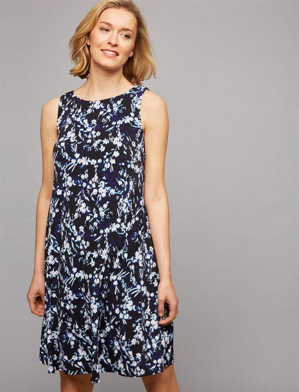 Sheath Maternity Dress, Floral Print