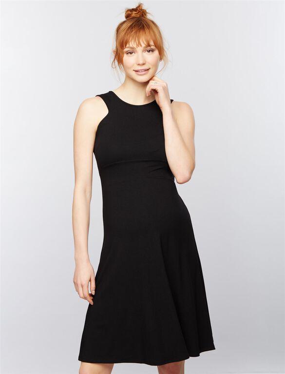 Isabella Oliver Bobbie Maternity Dress, Black