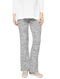 Splendid Secret Fit Belly Boot Cut Maternity Pants, Heather Grey