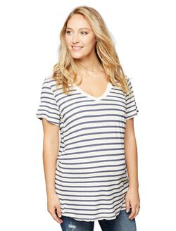 Splendid Sequoia Stripe Maternity Tee, Stripe