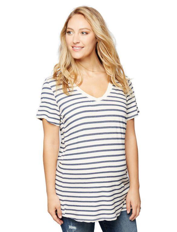 Splendid Sequoia Stripe Maternity Tee, Stripe