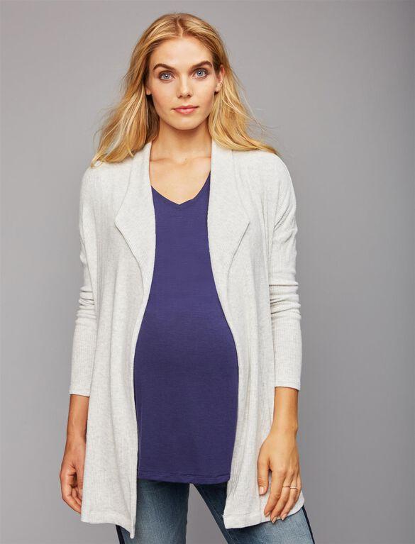 Maternity Cardigan, Ash