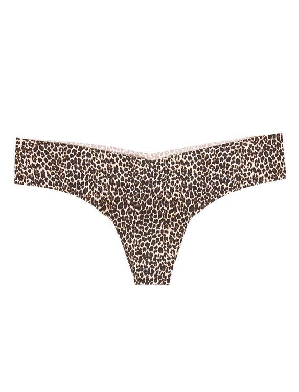 Commando Seamless Thong, Topaz Panther