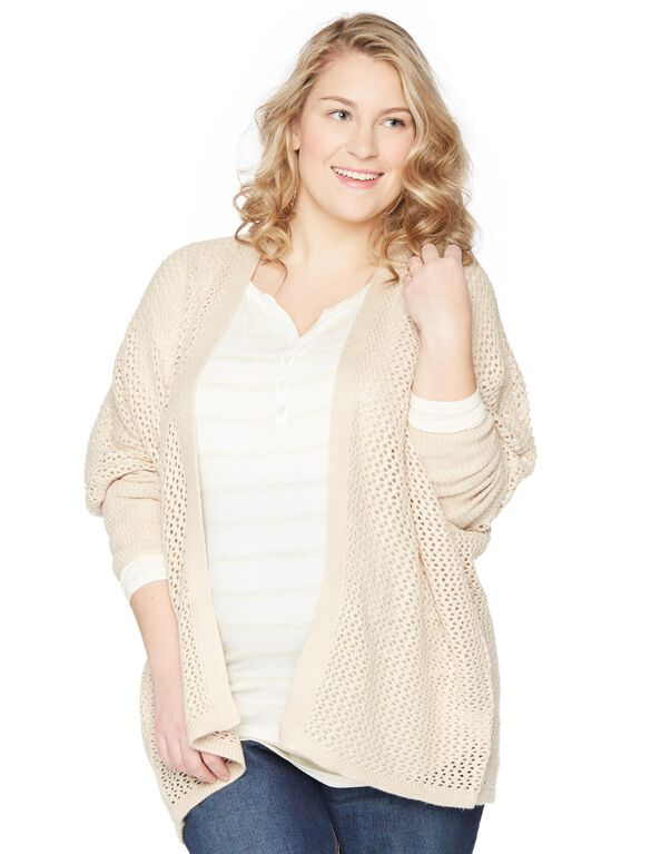 Wendy Bellissimo Cascade Maternity Sweater, Oatmeal