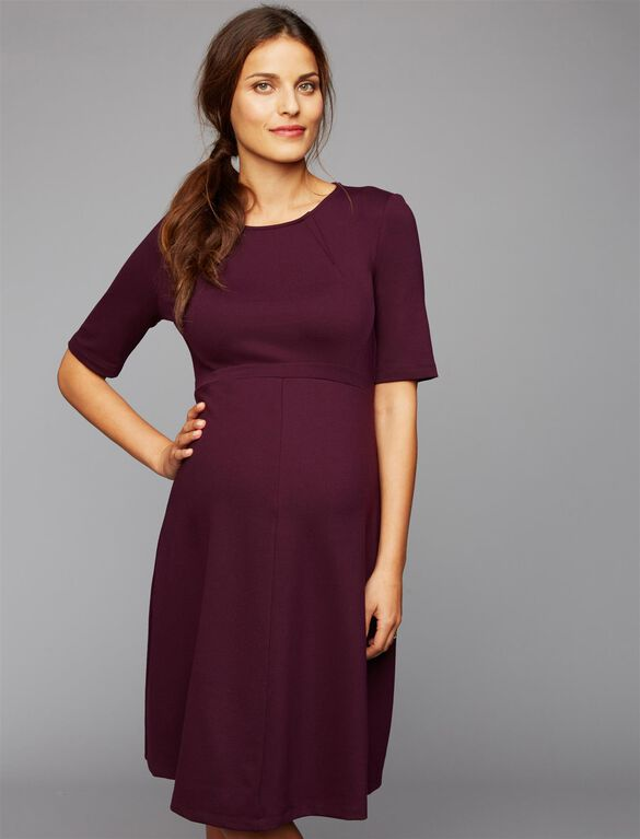Isabella Oliver Sheath Maternity Dress, Winter Cherry