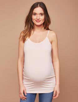 Maternity Cami Tank Top, Light Pink