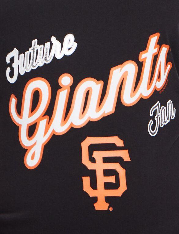 San Francisco Giants MLB Future Fan Maternity Tank, Giants Black