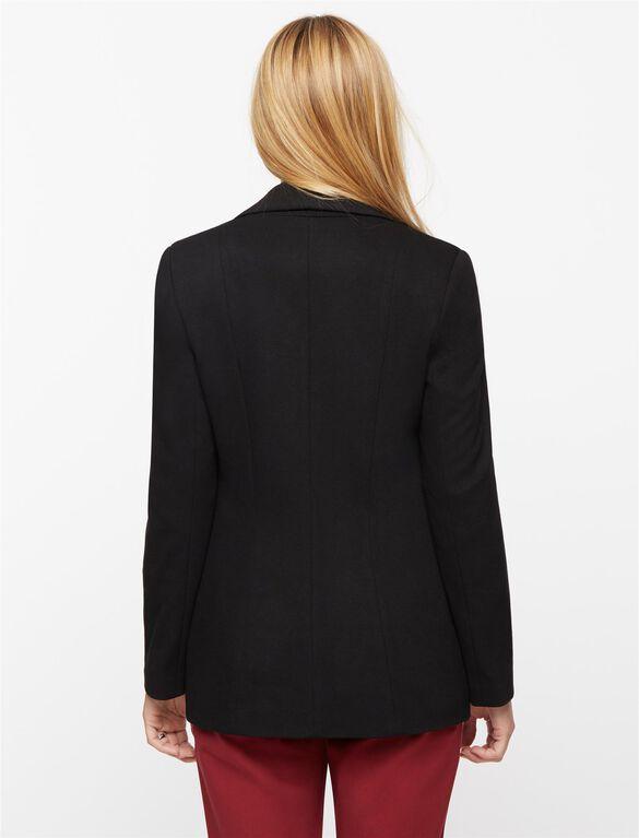 Isabella Oliver Earlham Maternity Blazer, Caviar Black