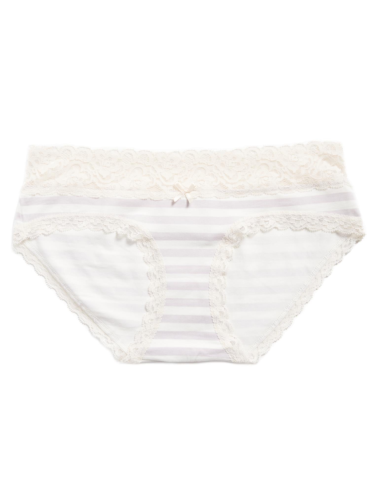 Jessica Simpson Lace Trim Maternity Panty (single)