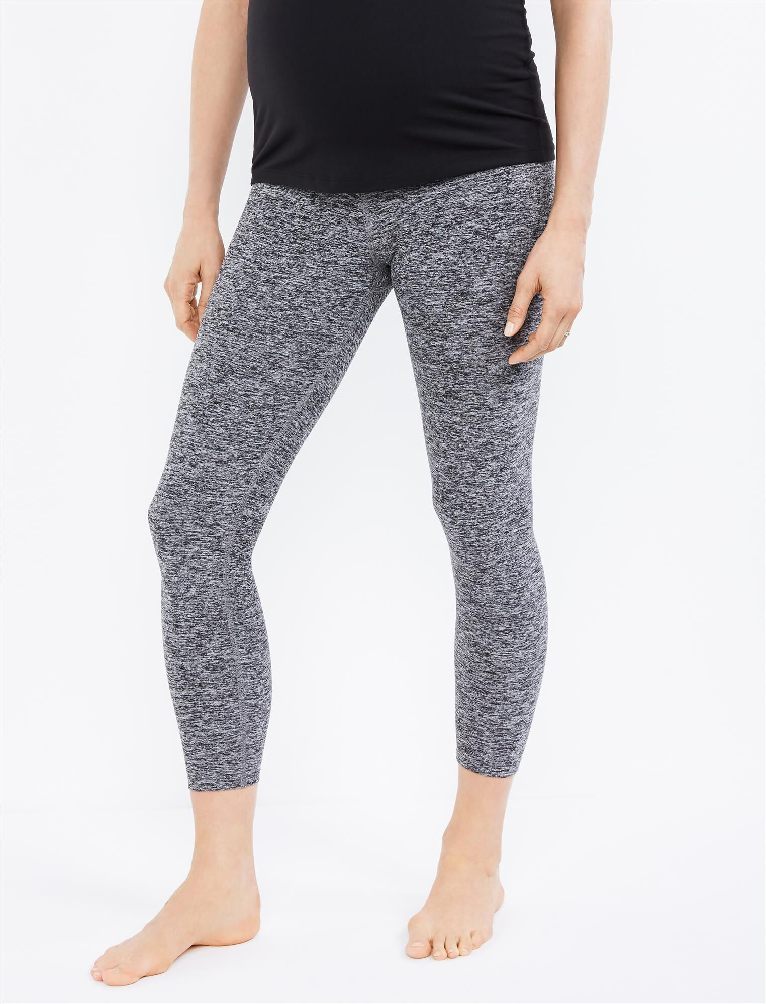 Beyond The Bump What's Kicking Foldover Maternity Legging