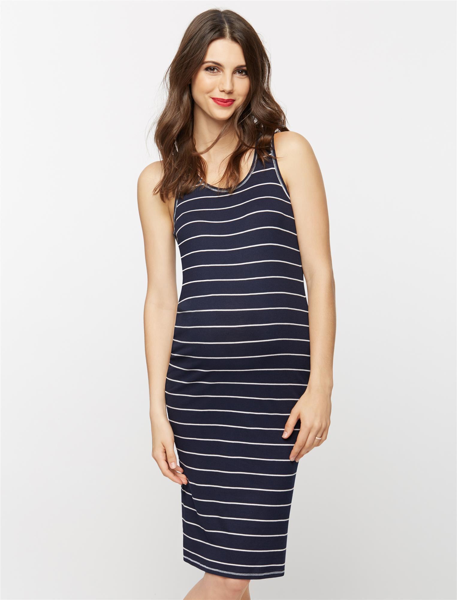 Racerback Maternity Dress