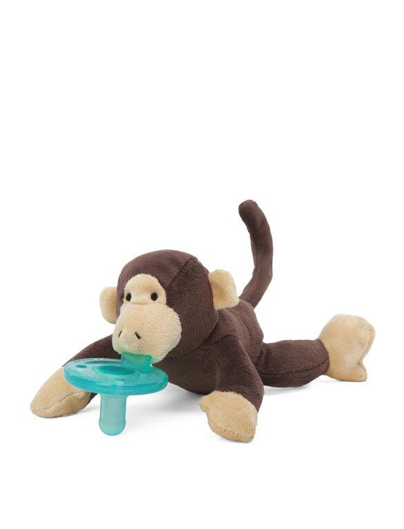 WubbaNub Monkey Infant Pacifier, Monkey