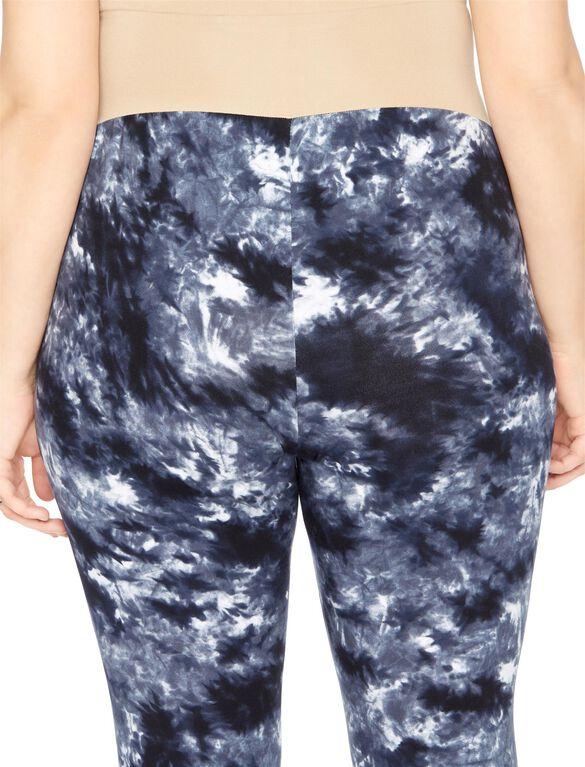 Plus Size Secret Fit Belly Maternity Leggings- Tie Dye, Tie Dye
