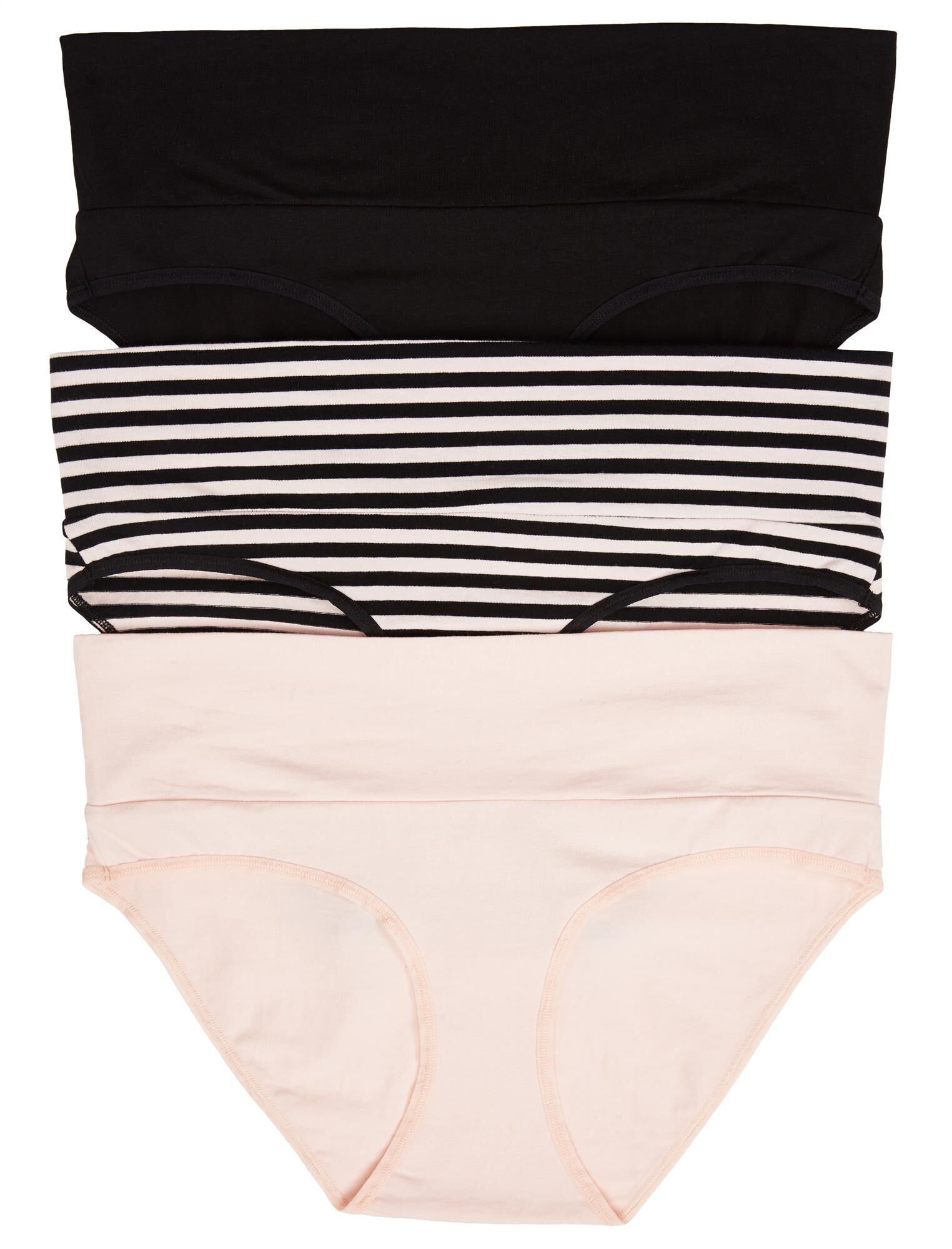 Maternity Fold Over Panties (3 Pack)