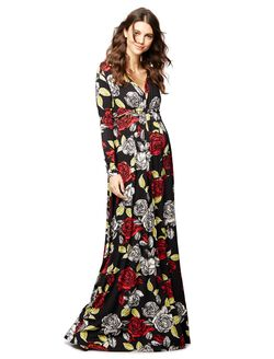 Rachel Pally Caftan Maternity Maxi Dress, Multi Print