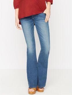 True Religion Secret Fit Belly Flare Leg Maternity Jeans, Authentic Indigo