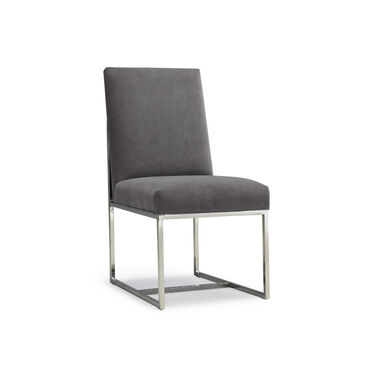 GAGE LEATHER LOW DINING CHAIR, , hi-res