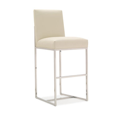 GAGE LEATHER BAR STOOL, , hi-res