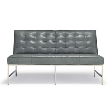MAJOR LEATHER LOVESEAT, , hi-res