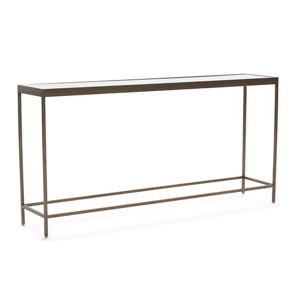 VIENNA CONSOLE TABLE - ANTIQUE BRASS, , hi-res