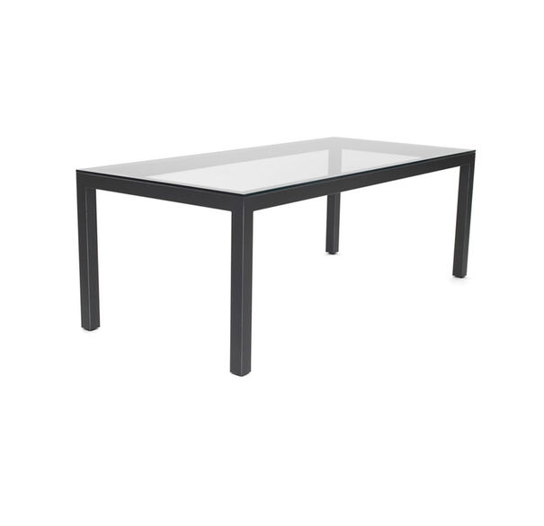 CLASSIC PARSONS DINING TABLE - DARK BRONZE, , hi-res