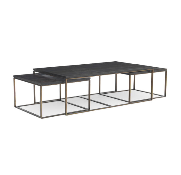 Nesting Cocktail Tables ~ Allure nesting cocktail table