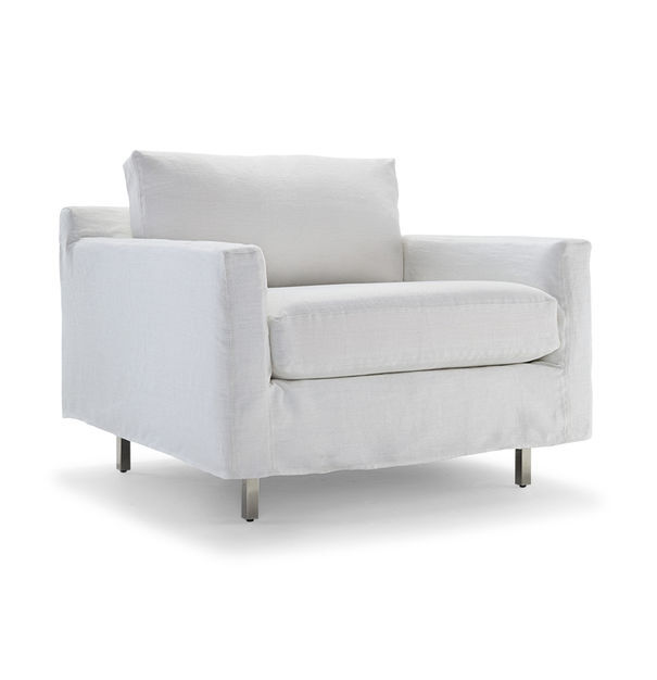 HUNTER SLIPCOVER CHAIR, , hi-res