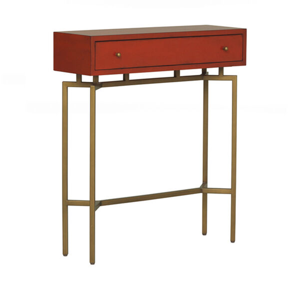MING RED LACQUER CHEST, , hi-res