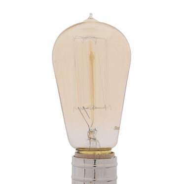 ANTIQUE EDISON THREAD FILAMENT BULB, , hi-res
