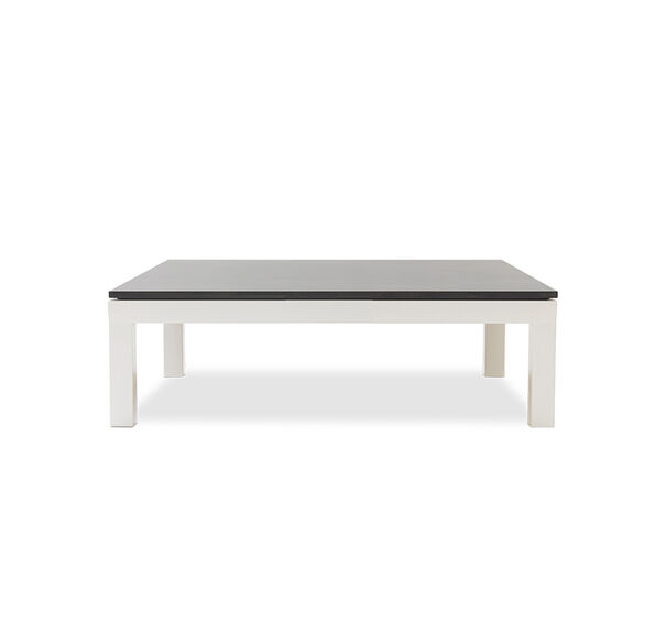 Classic Parsons Cocktail Table Powder White