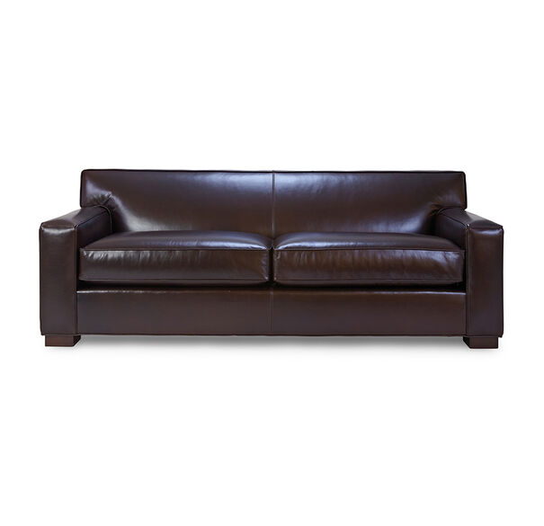 JEAN LUC LEATHER SOFA, , hi-res