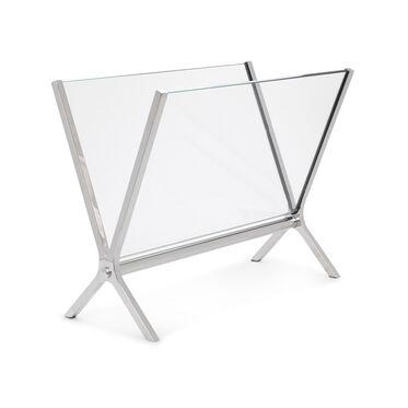GLASS MAGAZINE HOLDER, , hi-res