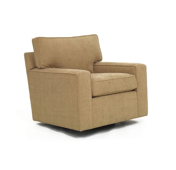 ALEX LEATHER SWIVEL CHAIR, , hi-res