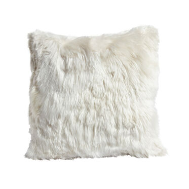 "ALPACA 20"" SQUARE IVORY PILLOW, , hi-res"