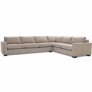 CARSON SECTIONAL, HOLLINS - DARK TAUPE, hi-res
