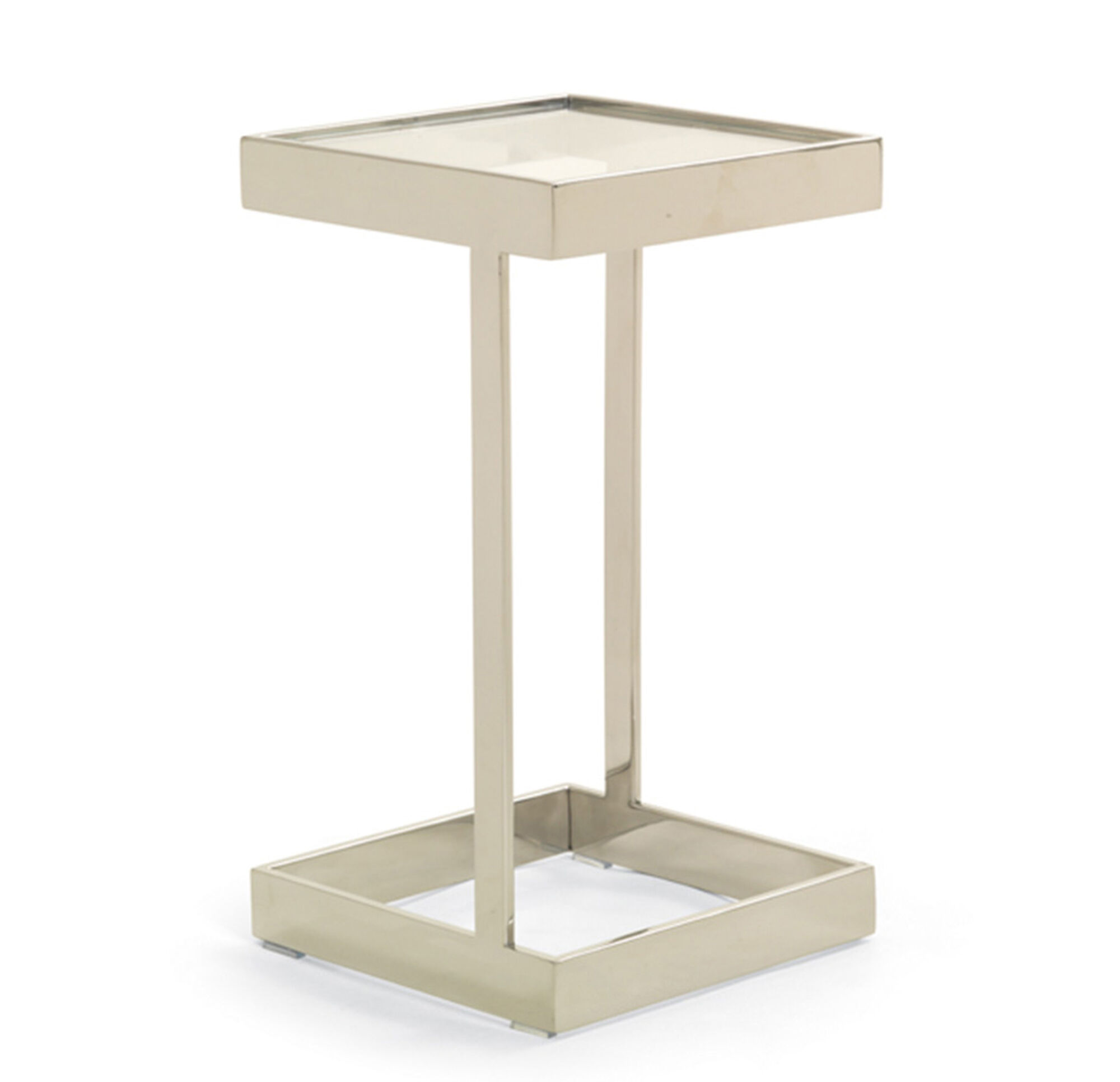 Addie pull up table   pewter