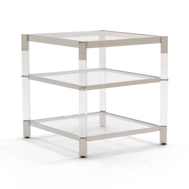 MELROSE 2 SHELF SIDE TABLE, , hi-res