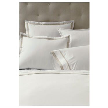 FELICITY DUVET COVER - LINEN AND IVORY, , hi-res