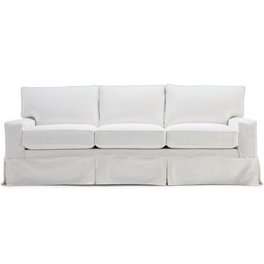 "ALEX II 3 OVER 3 89"" SOFA SLIPCOVER - LOOSE SKIRT, , hi-res"