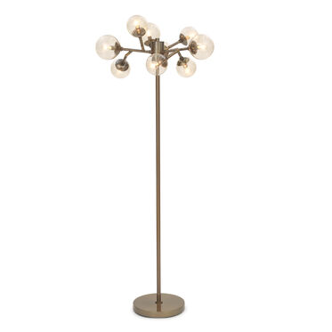 SAVOY FLOOR LAMP - VINTAGE BRASS, , hi-res