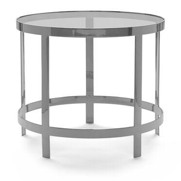 VEGA SIDE TABLE - STAINLESS STEEL, , hi-res