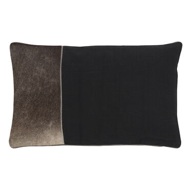 COLOR BLOCK HIDE PILLOW, , hi-res